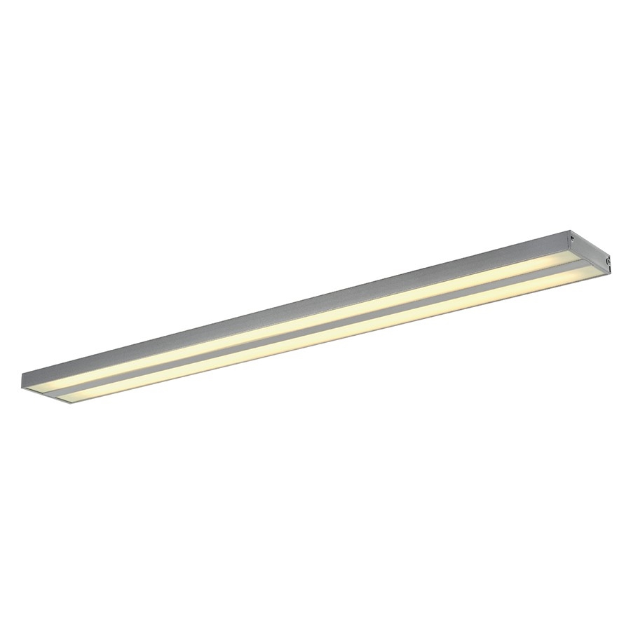 Surface mounted twin fluorescent ceiling light tap to expand aloadofball Choice Image
