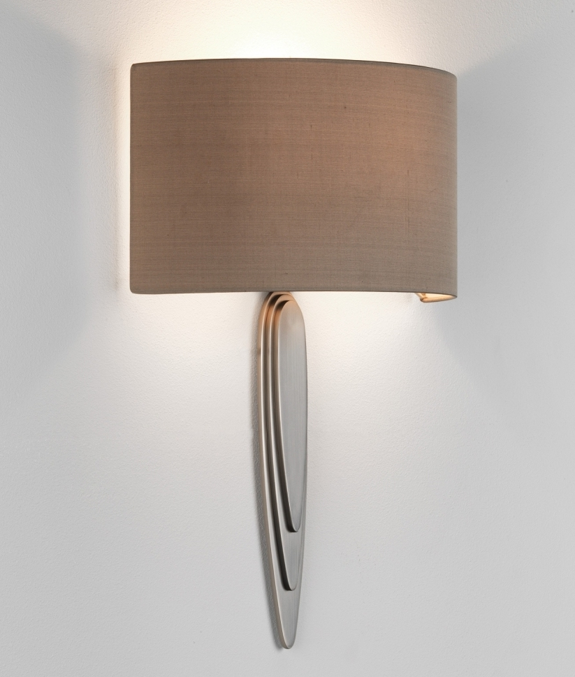 Modernist Wall Light With Long Bracket And Back-to-wall