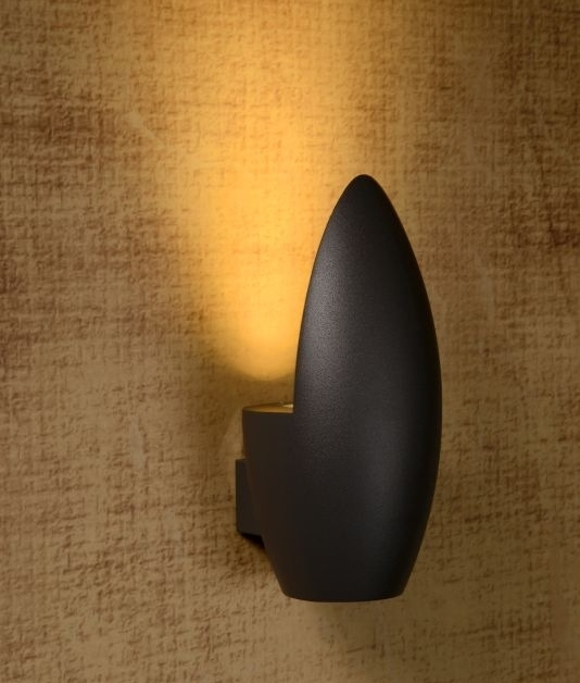 Outdoor Ip54 Wall Uplighter Two Finishes