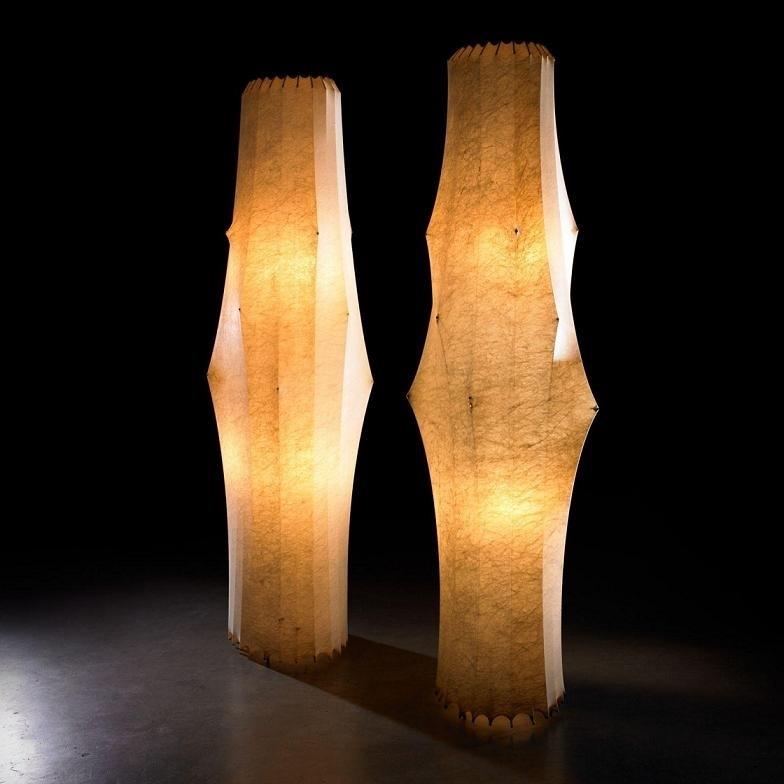 Fantasma Cocoon Floor Lamps By Flos Sculptural Floor