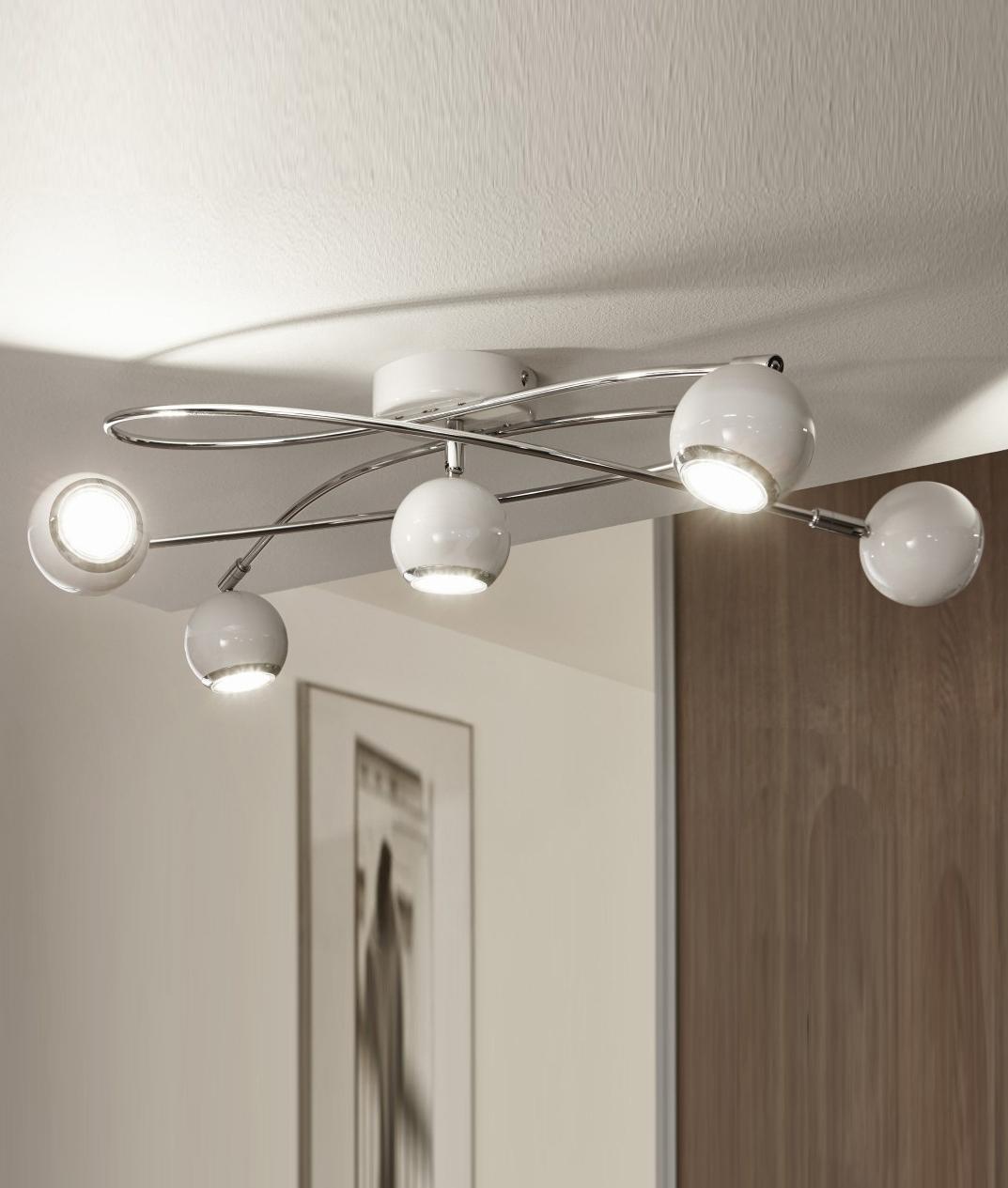 huge selection of 120f2 3070f Modern Spiral Adjustable Eyeball LED Spot Light