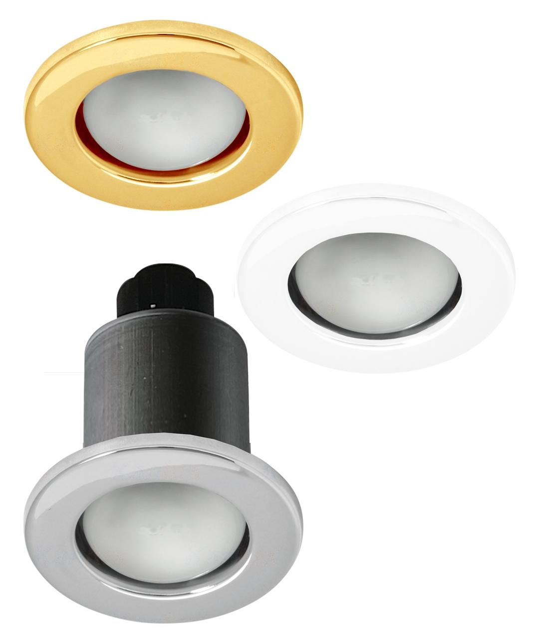 bulb in a sealed bathroom downlight