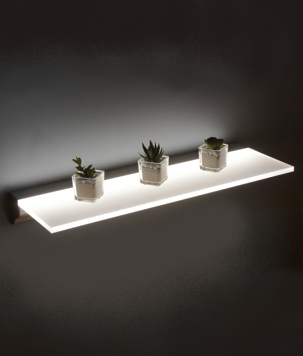 Surprising Led Opal Illuminated Shelf In Two Sizes Download Free Architecture Designs Embacsunscenecom