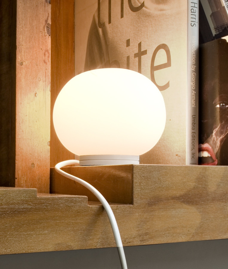 flos mini glo ball table lamp. Black Bedroom Furniture Sets. Home Design Ideas