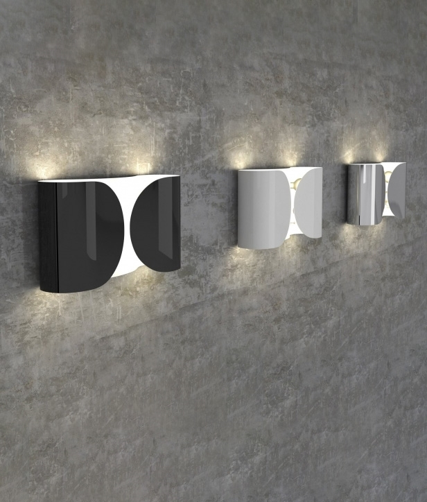 Foglio wall light by flos available in three finishes tap to expand aloadofball Gallery