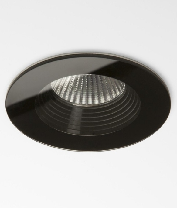 Stunning Glass Led Bathroom Downlights In Square Or Round