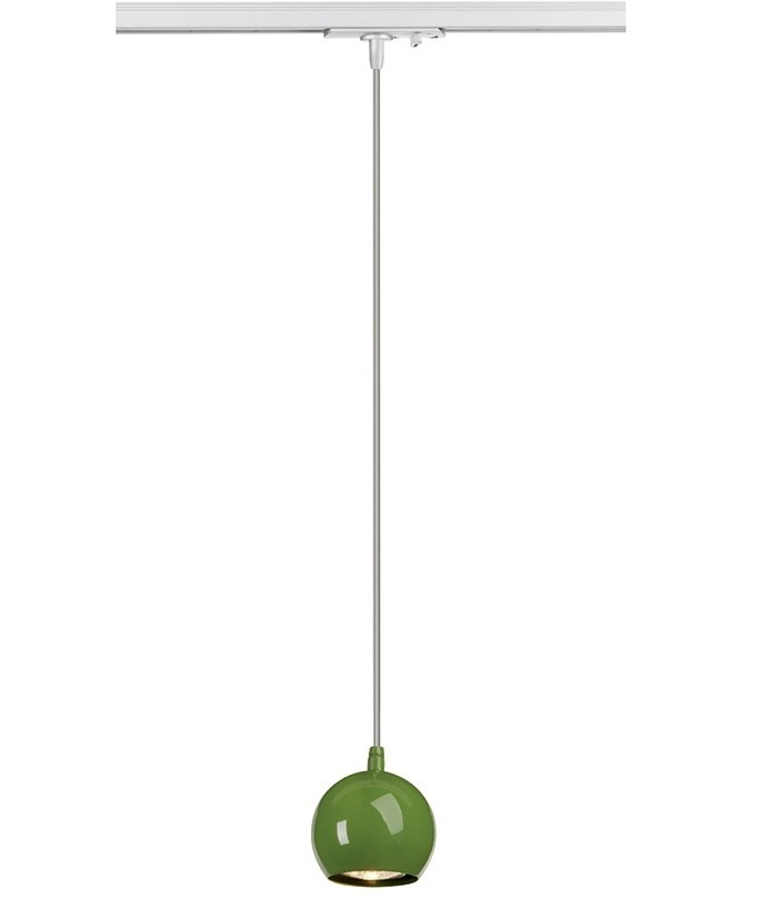 Single circuit track eyeball pendant available in five colours aloadofball Images