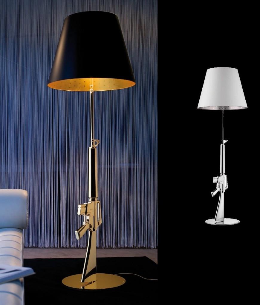 Flos Guns Lounge Gun By Philippe Starck