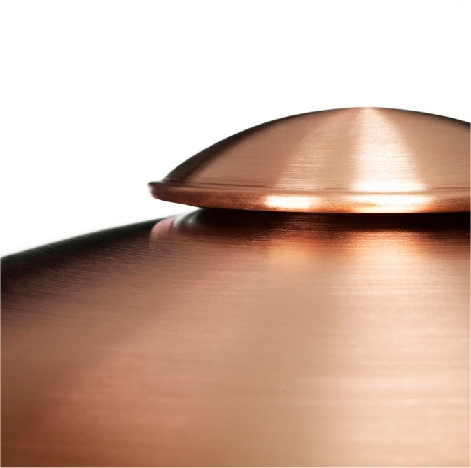 HL 410 Steel & Copper Exterior Wall Light