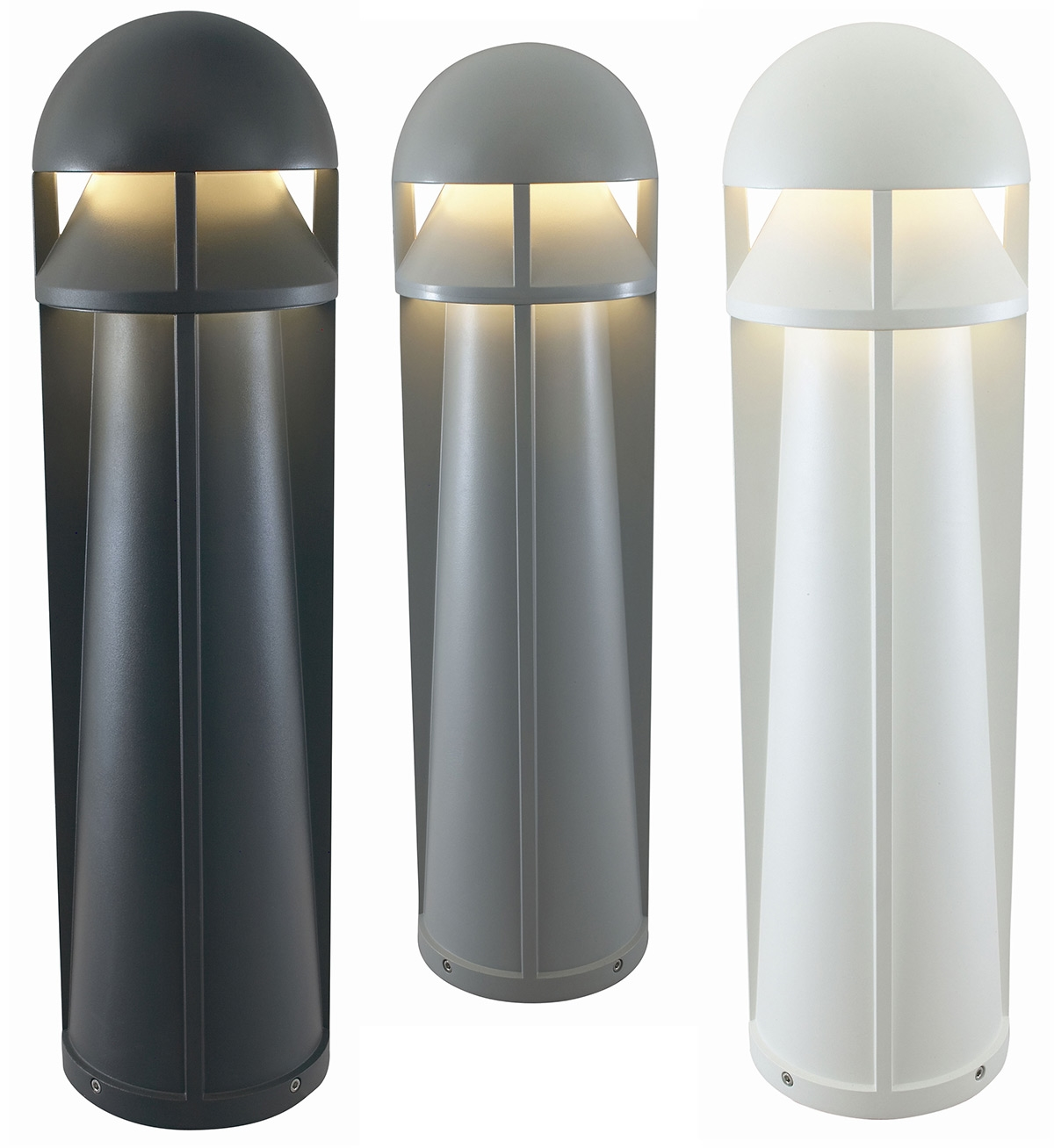 Rugged commercial bollard hit or cfl lamps mozeypictures Choice Image