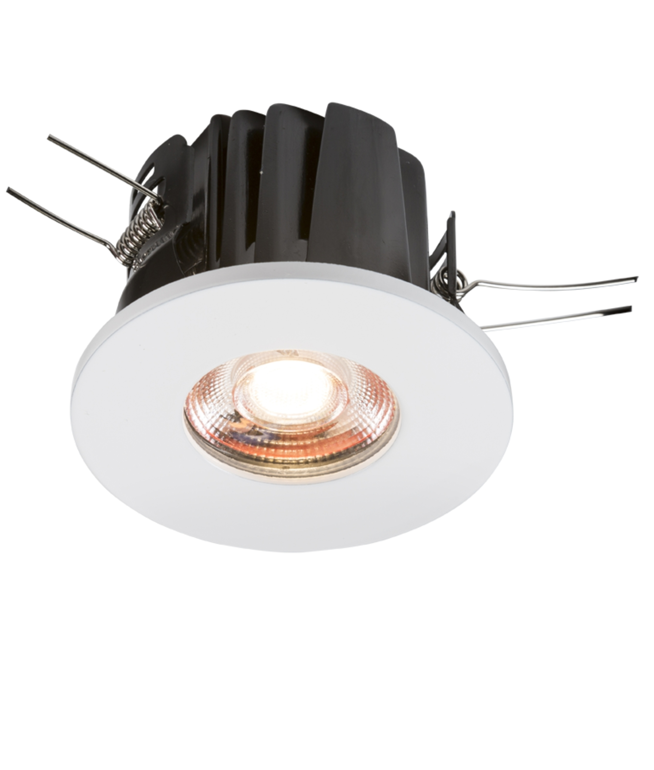 Low profile led fire rated downlight ip65 ic rated