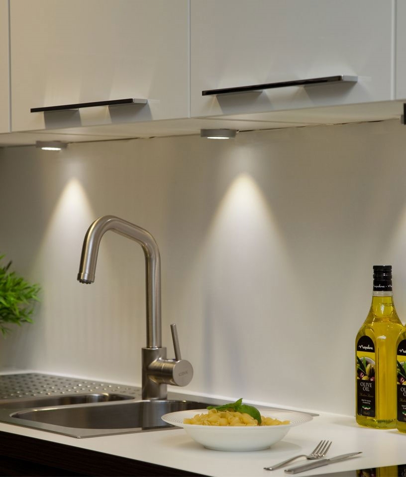Led Undercabinet Lights Two Lamp, Led Light For Kitchen Cabinet