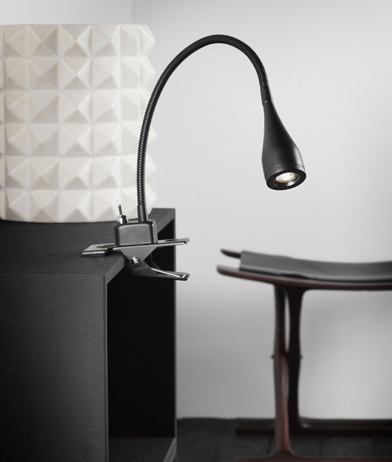 Led adjustable metal clamp desk or table lamp led adjustable metal clamp light publicscrutiny Image collections