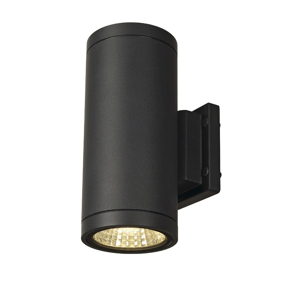 Ip55 led exterior cylinder wall light up down for Applique exterieur up down