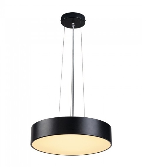LED Drum Pendant With Acrylic Diffuser