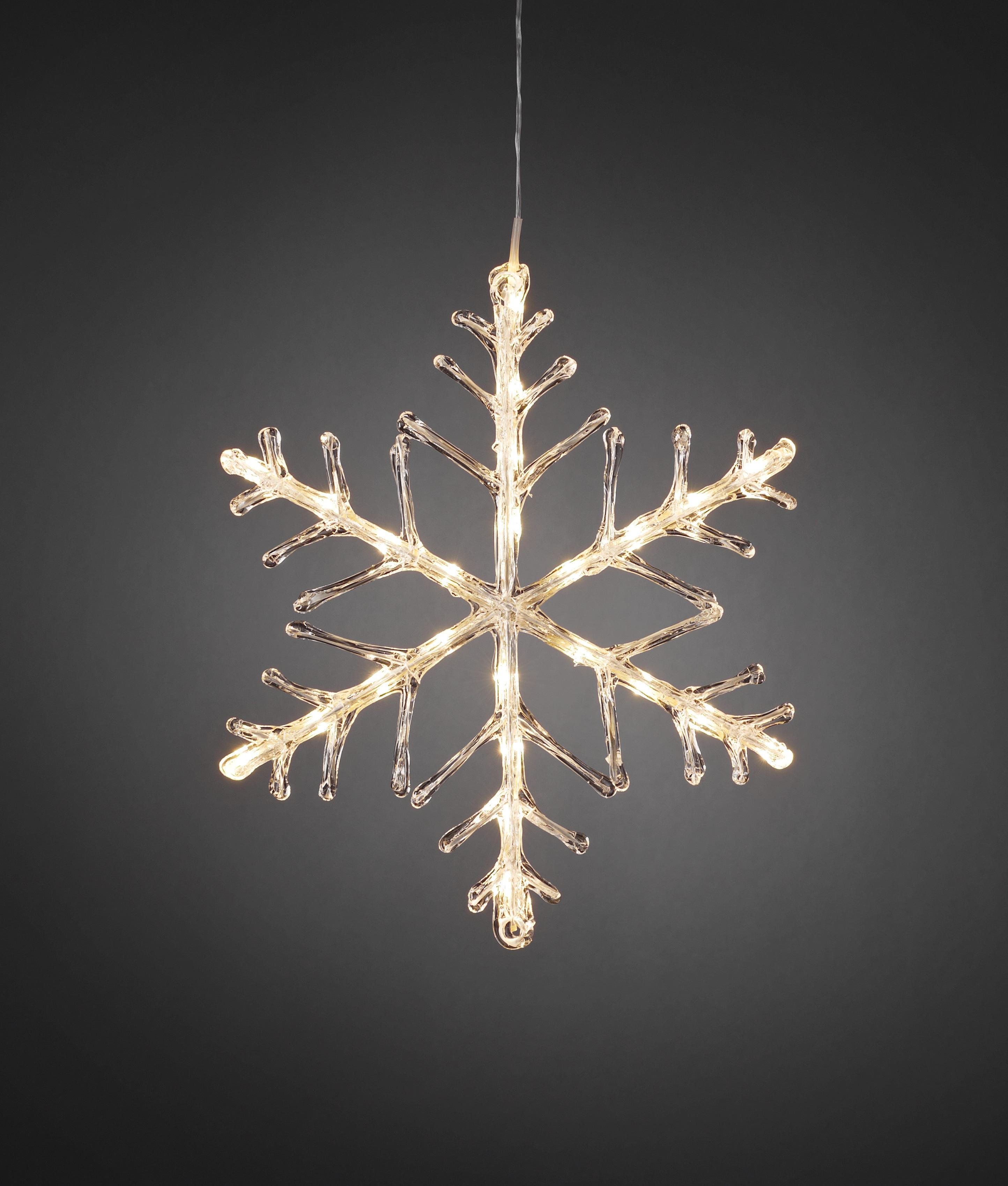 Hanging Led Christmas Snowflake