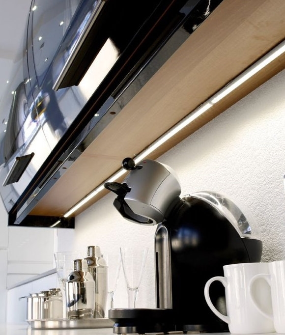 Led Strip Lighting Kitchen: LED Linkable Strip Light For Use Under Kitchen Wall Units