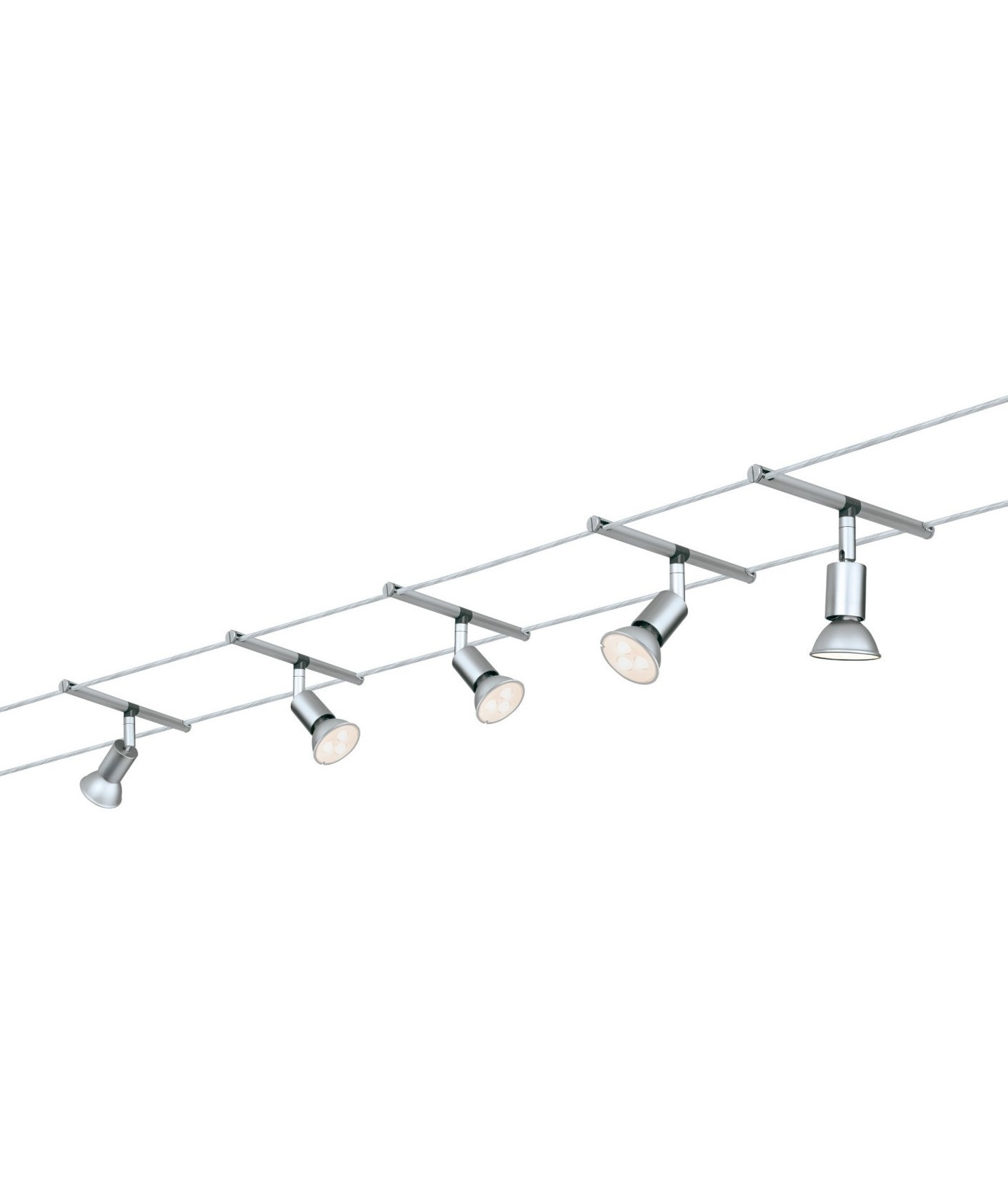 no wire lighting. Track Lighting Without Wiring. LED Tension Wire System - Ready To Install No