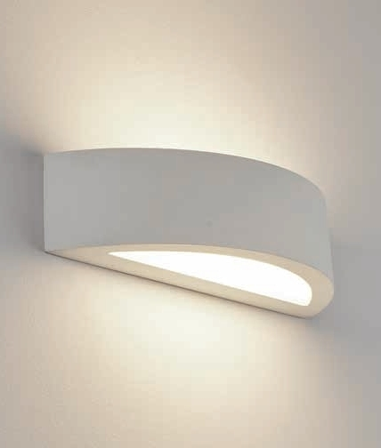 Led Wall Lights Plaster: LED Plaster Wall Washing Semicircular Wall Light With
