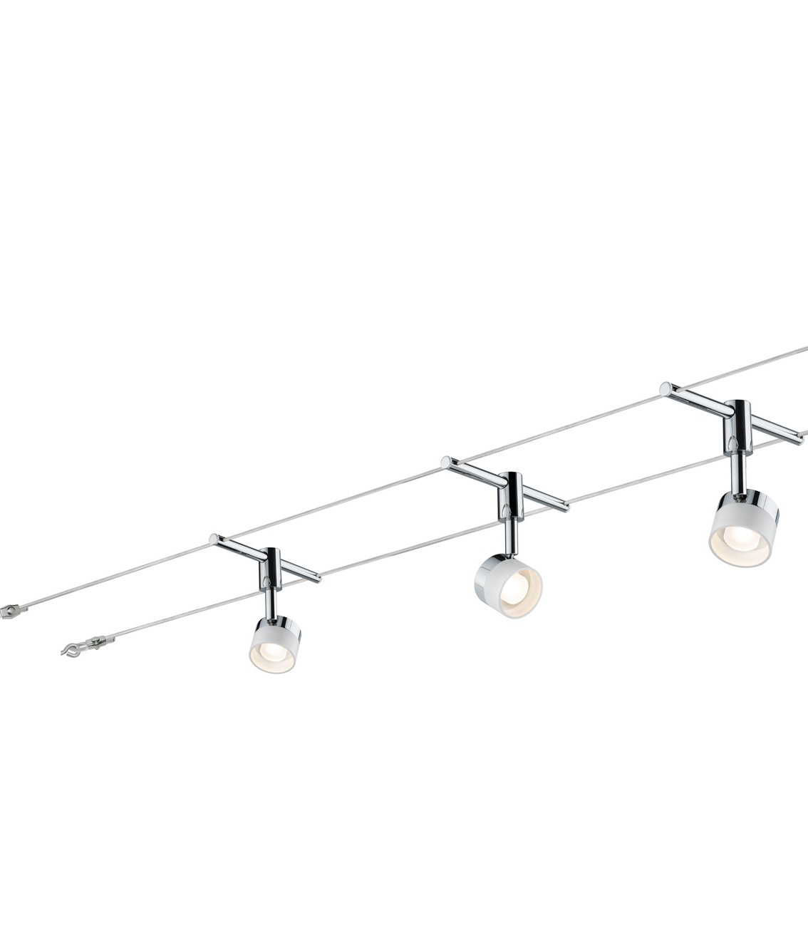 Track lighting lighting styles ready to install led tension wire system mozeypictures Choice Image