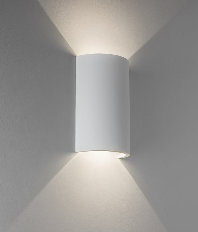 LED Round Plaster Wall Light