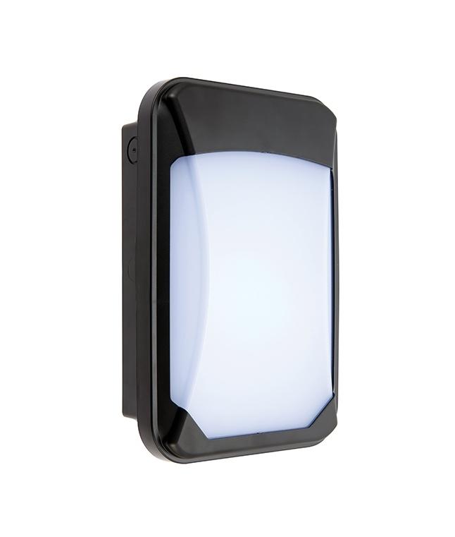 Microwave Sensor Compact Exterior Wall Light