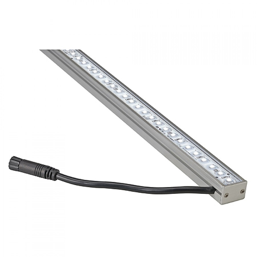 2x Led Under Cabinet Strip Lights 12w Led 12v Driver: 500mm Or 1000mm Long