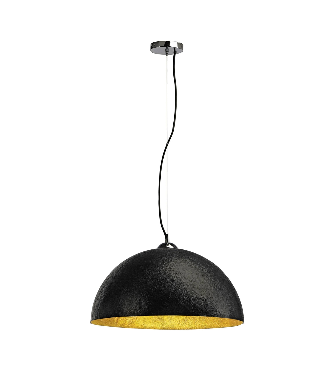Lightweight Large Fibreglass Dome Pendant With Glossy