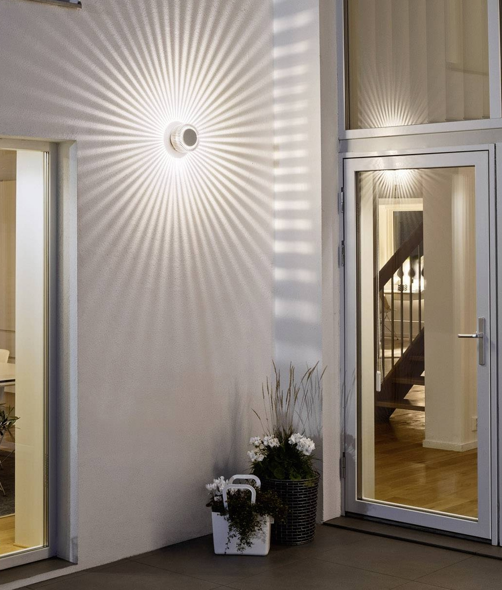 Wall Mounted Decorative Led Light Polar Distribution Wall Washer With Star Effect