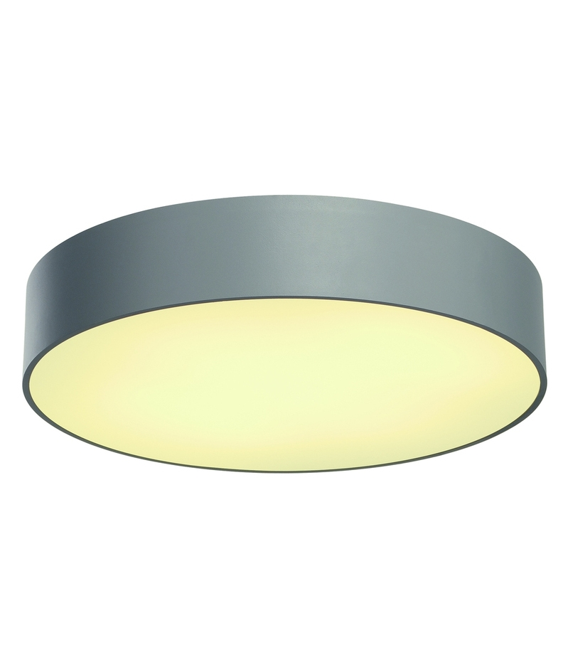 Ceiling Lights Grey : Large aluminium modern ceiling fitting dia mm