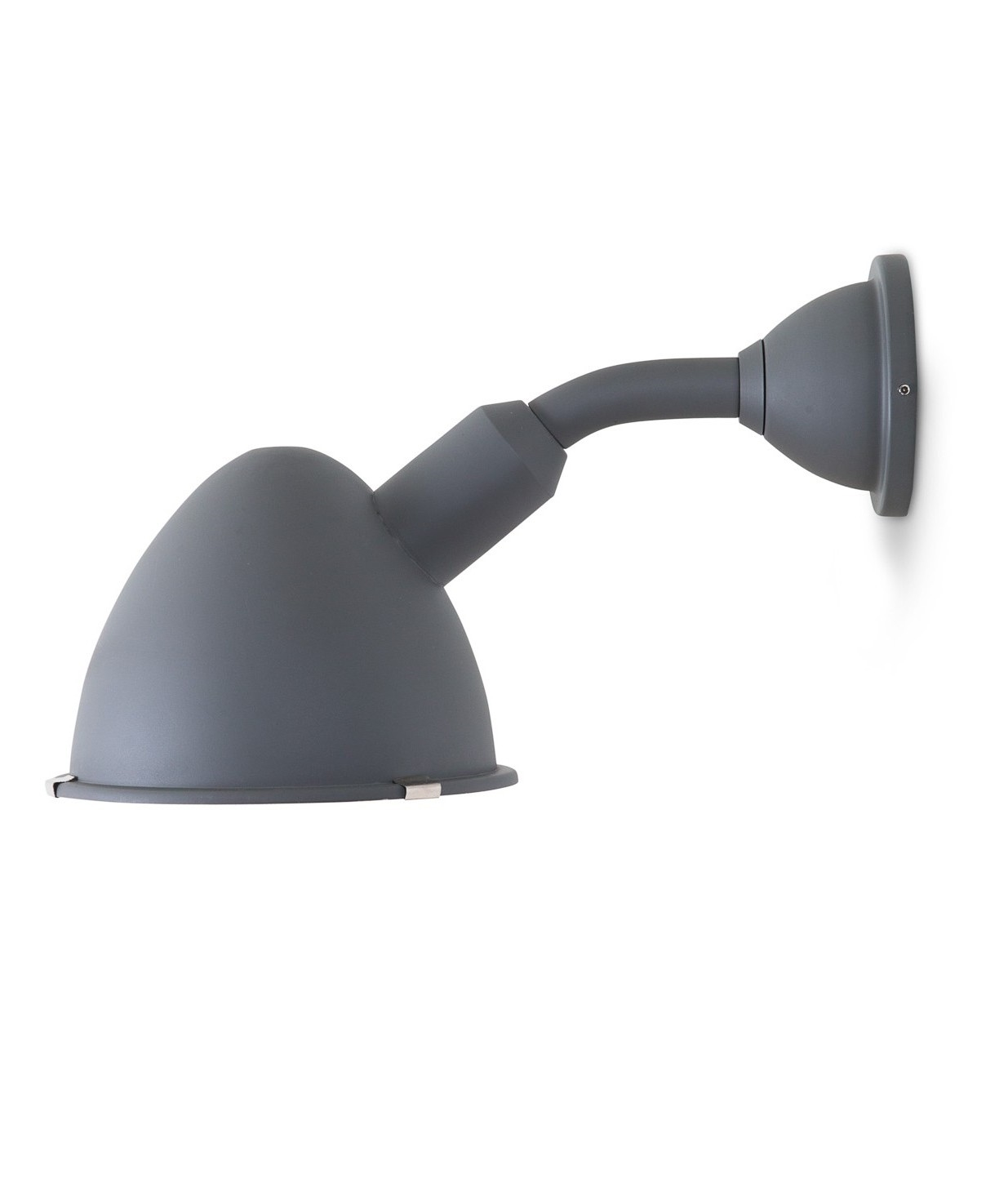 Barn Light Charcoal: Large Charcoal Outdoor IP44 Wall Light In A Chunky Style