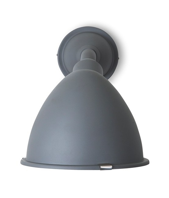 Large Charcoal Outdoor Ip44 Wall Light In A Chunky Style Fantastic For Exterior Areas