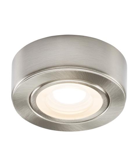 Led Under Cabinet Surface Mounted Light: Mains Powered Round Surface Mounted LED Under Cabinet