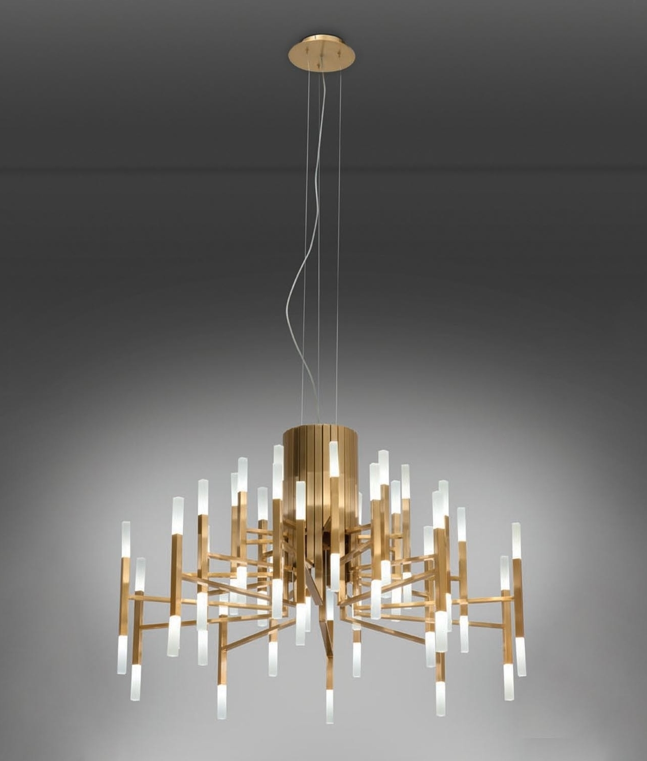 Modern 18 Arm Led Chandelier