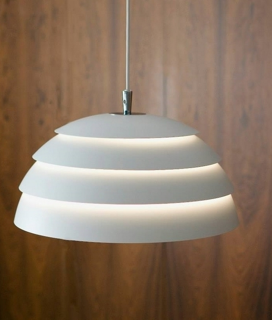 Dome Layered Scandinavian Style Pendant With Filtered Light