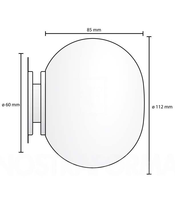 Flos Mini Glo-Ball C W