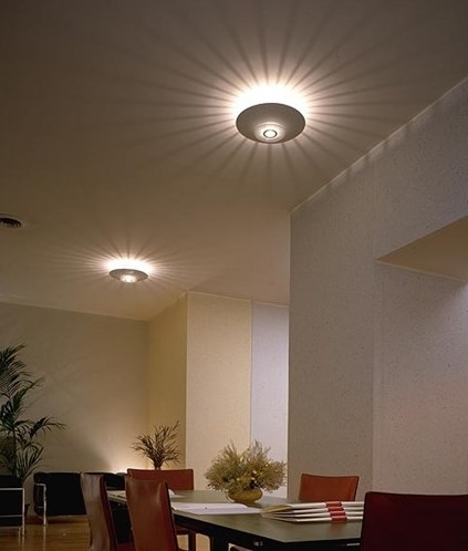 Moni Surface Light By Flos For Installation On Wall Or Ceiling