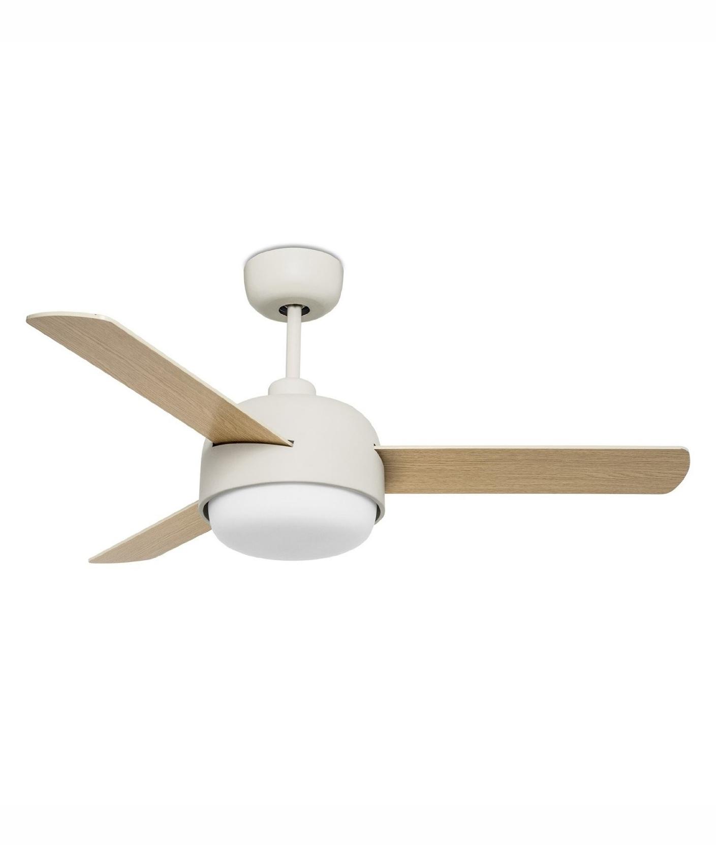 Wood Effect Bladed Ceiling Fan Reversible Function