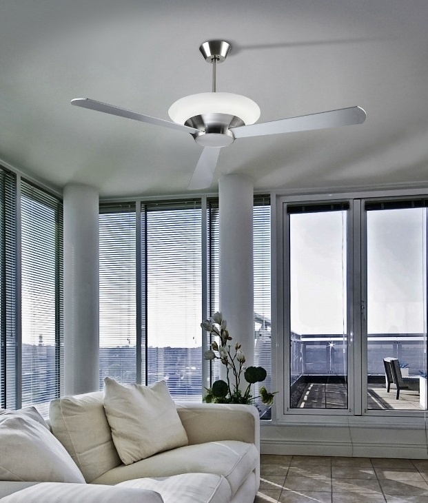 Ceiling Fan Offering Upwards Light Matt Grey Reversible Blades For Diffe Styling