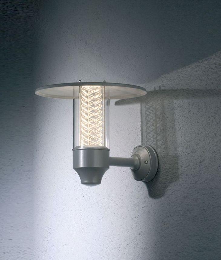 Stylish Modern Wall Lights : Stylish Modern Wall Light with Reflected Wire Detail
