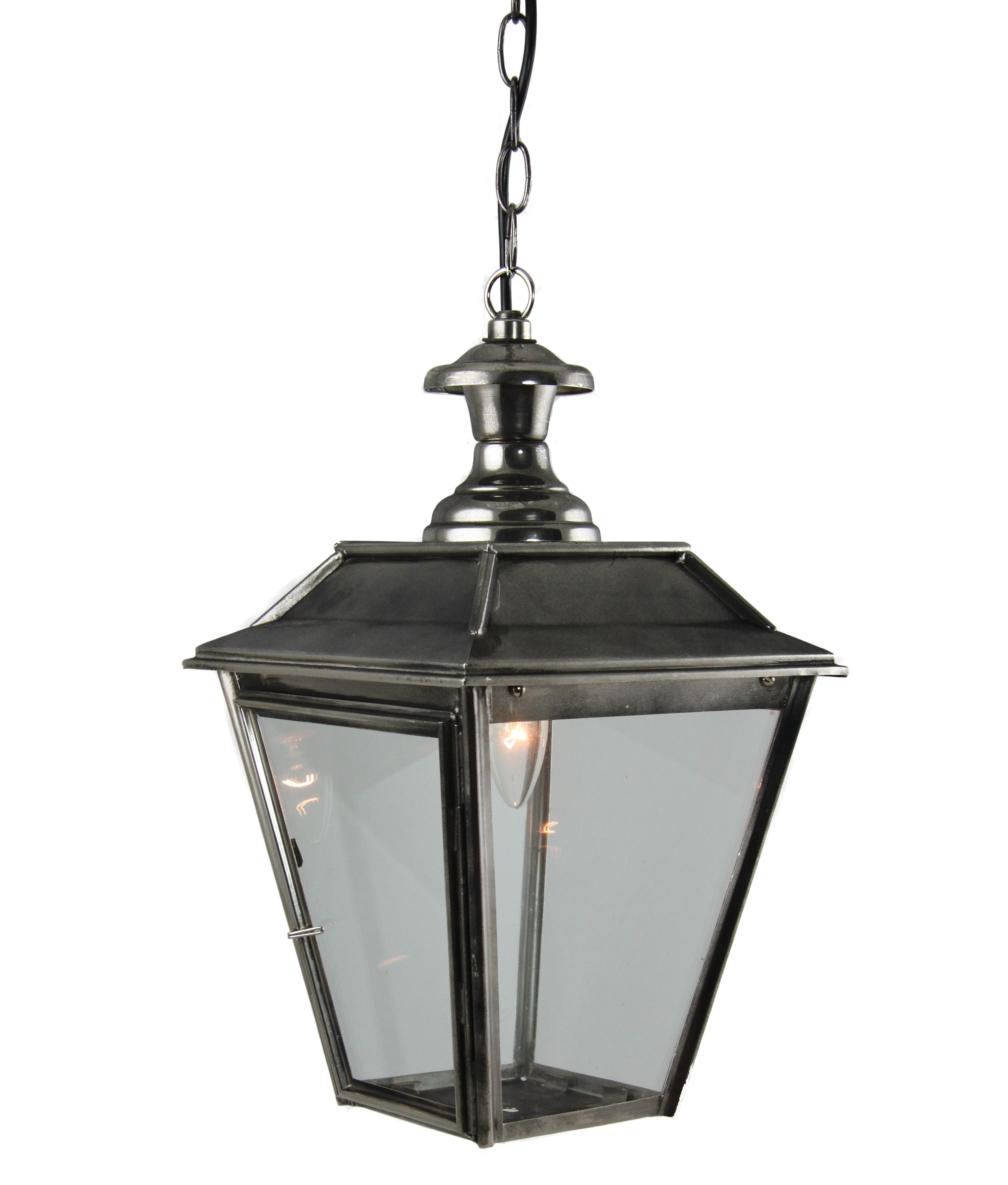 Victorian Style Lanterns And Chain Link Suspension