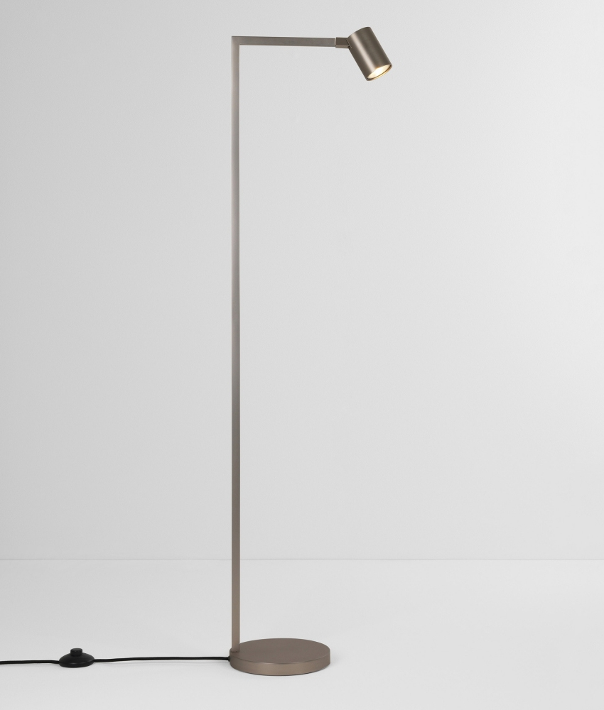 Floor Reading Lamp In A Modern And Simple Design