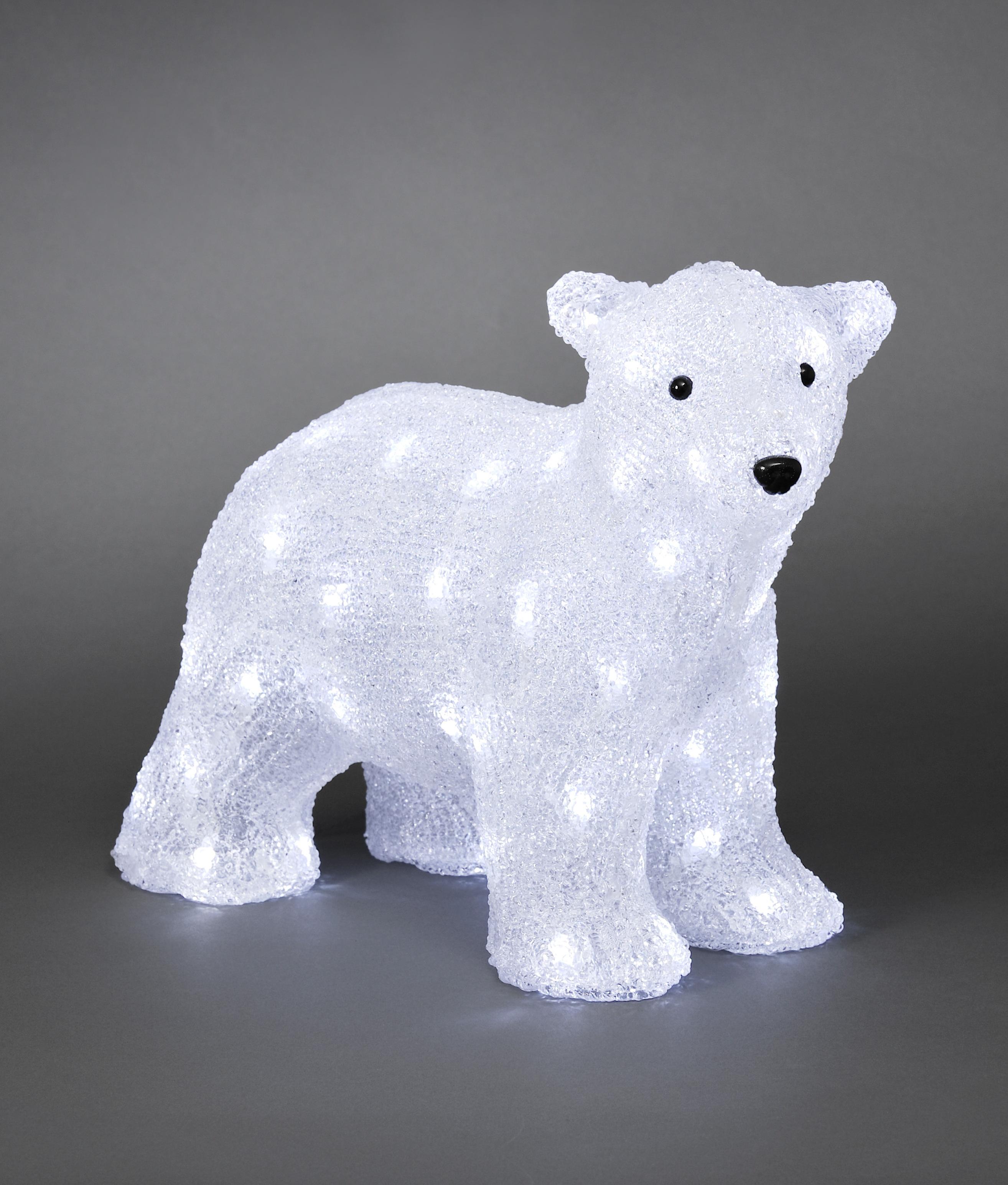Exterior Led Baby Polar Bear