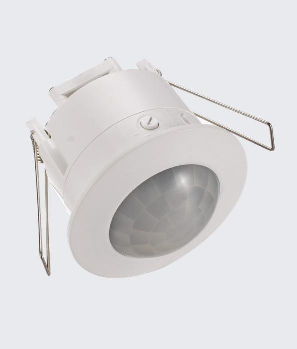 Flush recessed pir occupancy detector pir occupancy detector flush recessed indoor use only sciox Gallery