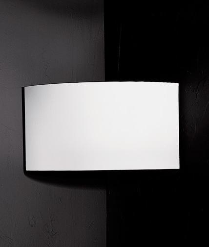 Corner Accent Wall Uplight: Plaster Corner Uplight