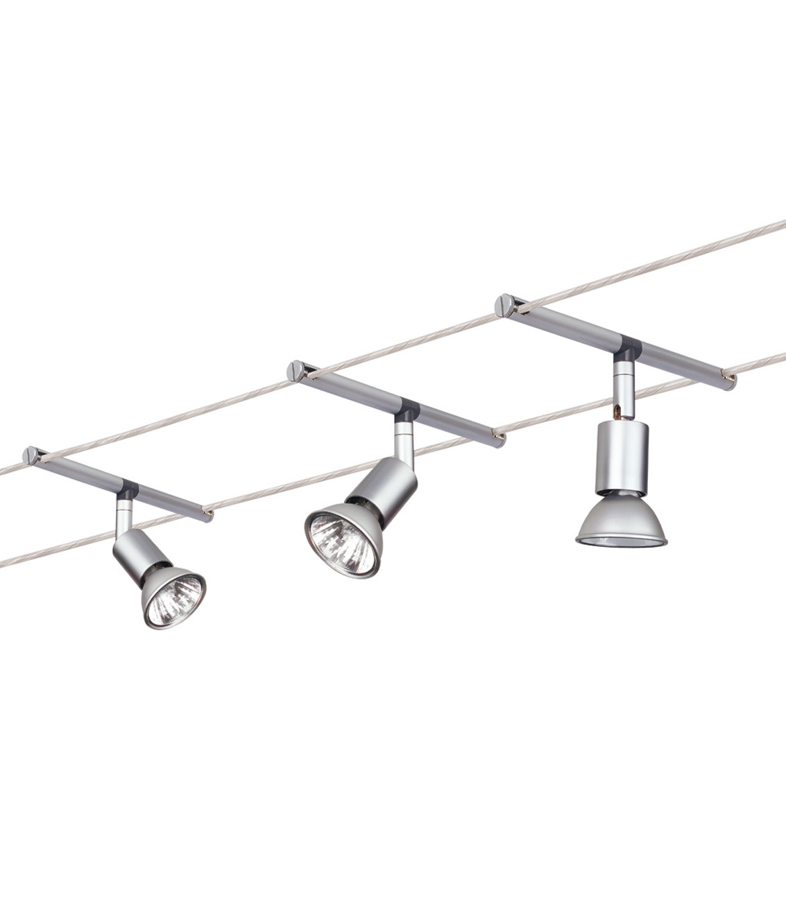 Different Types Of Track Lighting Fixtures To Install: Ready To Install Tension Wire System