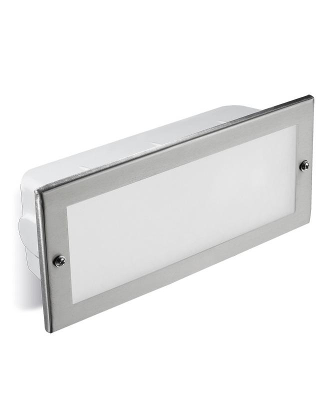 Stainless Steel Bricks : Ip stainless steel recessed brick light