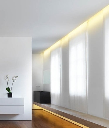 Recessed plaster lighting for wall washing effect hover to zoom aloadofball