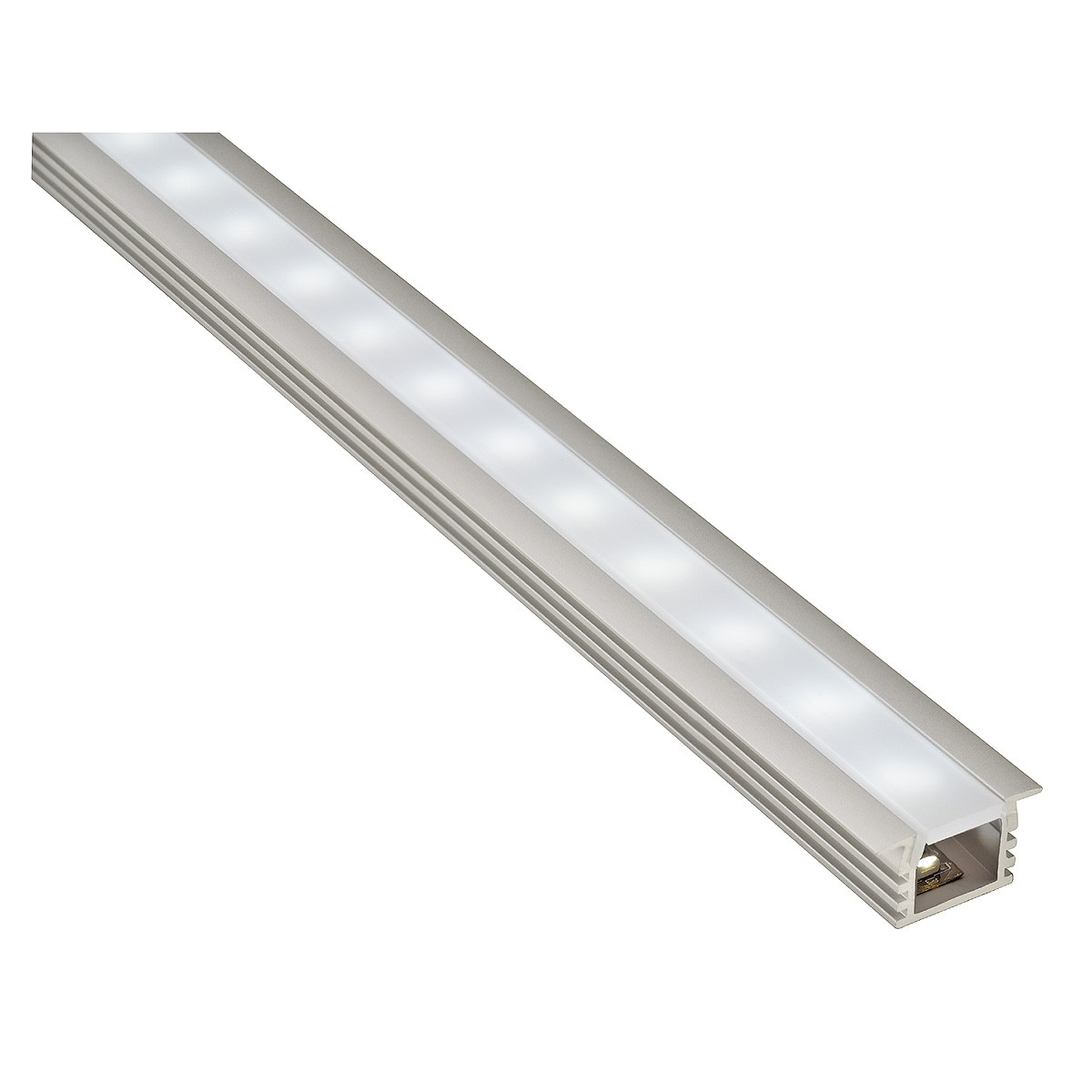 Recessed Mini Led Lighting : Recessed led mini profile metre lengths