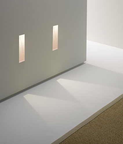 Slot Trimless Plaster In Low Level Guide Light